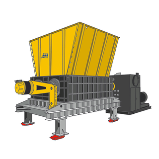 HS Series - Double Shaft Shredder